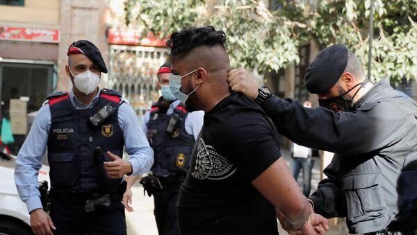 La operación antidroga en Barcelona - Sputnik Mundo
