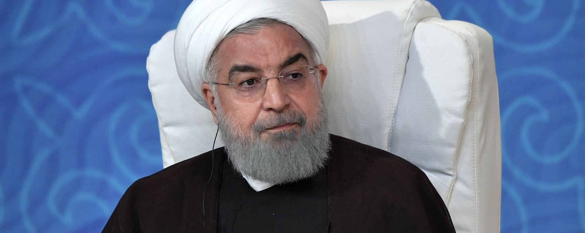 Hasán Rohaní, el presidente iraní - Sputnik Mundo, 1920, 10.06.2021