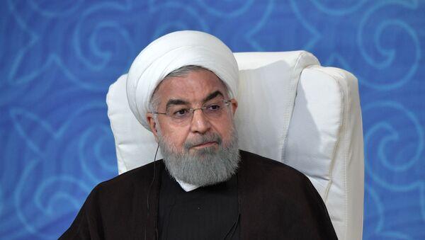 Hasán Rohaní, el presidente iraní - Sputnik Mundo