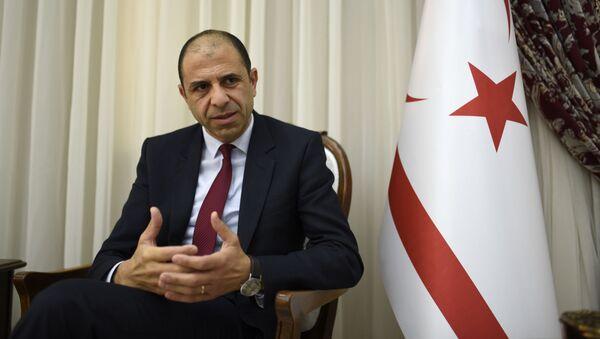 Kudret Ozersay, exministro de Asuntos Exteriores de la autoproclamada República de Chipre del Norte - Sputnik Mundo