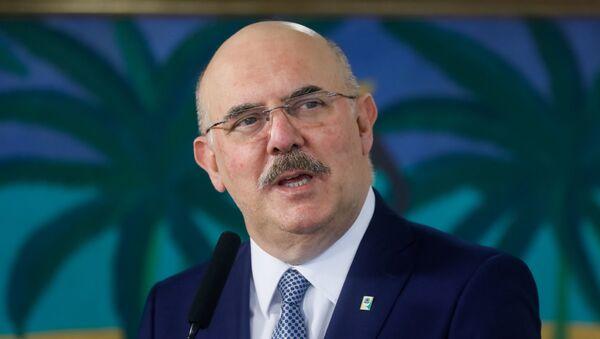 El ministro de Educación de Brasil, Milton Ribeiro - Sputnik Mundo