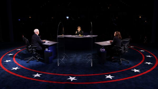 Debate vicepresidencial entre Mike Pence y Kamala Harris - Sputnik Mundo