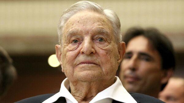 George Soros, inversor húngaro-estadounidense - Sputnik Mundo