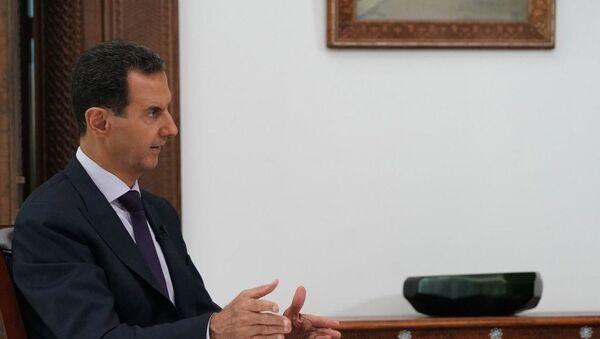El presidente de Siria, Bashar Asad - Sputnik Mundo