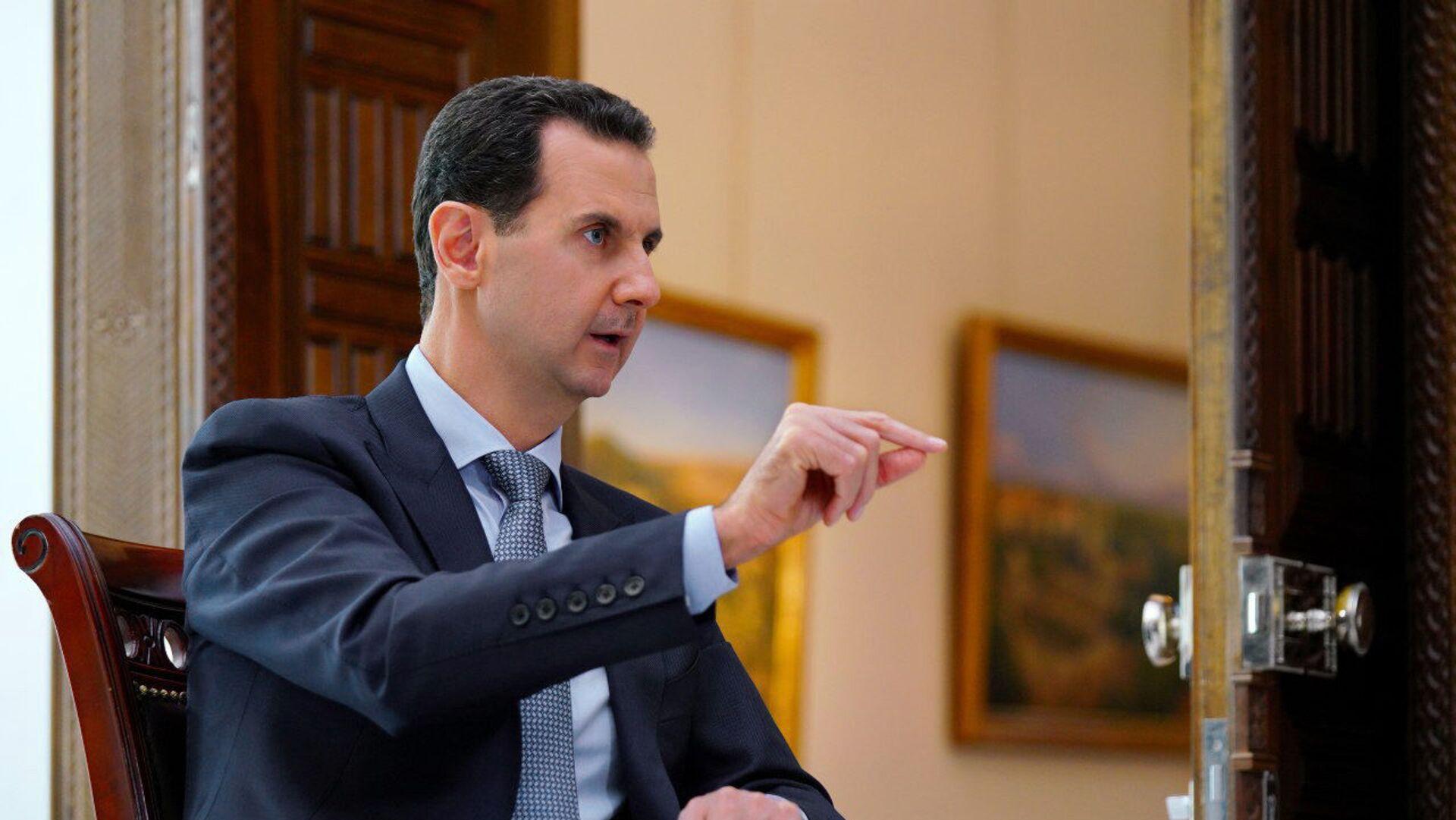 Bashar Asad, presidente de Siria - Sputnik Mundo, 1920, 21.04.2021