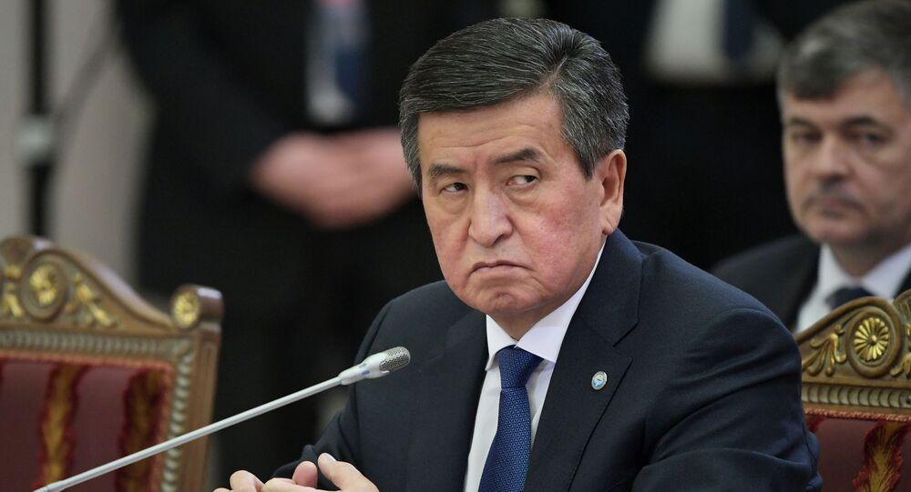 Sooronbái Zheenbékov, el presidente de Kirguistán