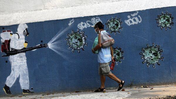 Coronavirus en Brasil (imagen referencial) - Sputnik Mundo