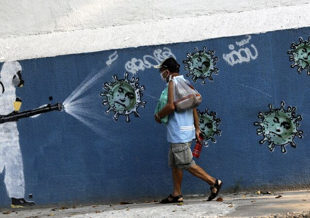 Coronavirus en Brasil (imagen referencial)