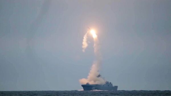 Las pruebas de misil hipersónico Tsirkon realizada por Rusia - Sputnik Mundo