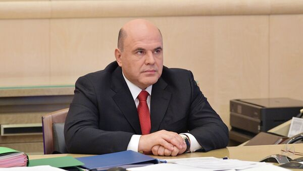 Mijaíl Mishustin, el primer ministro ruso - Sputnik Mundo