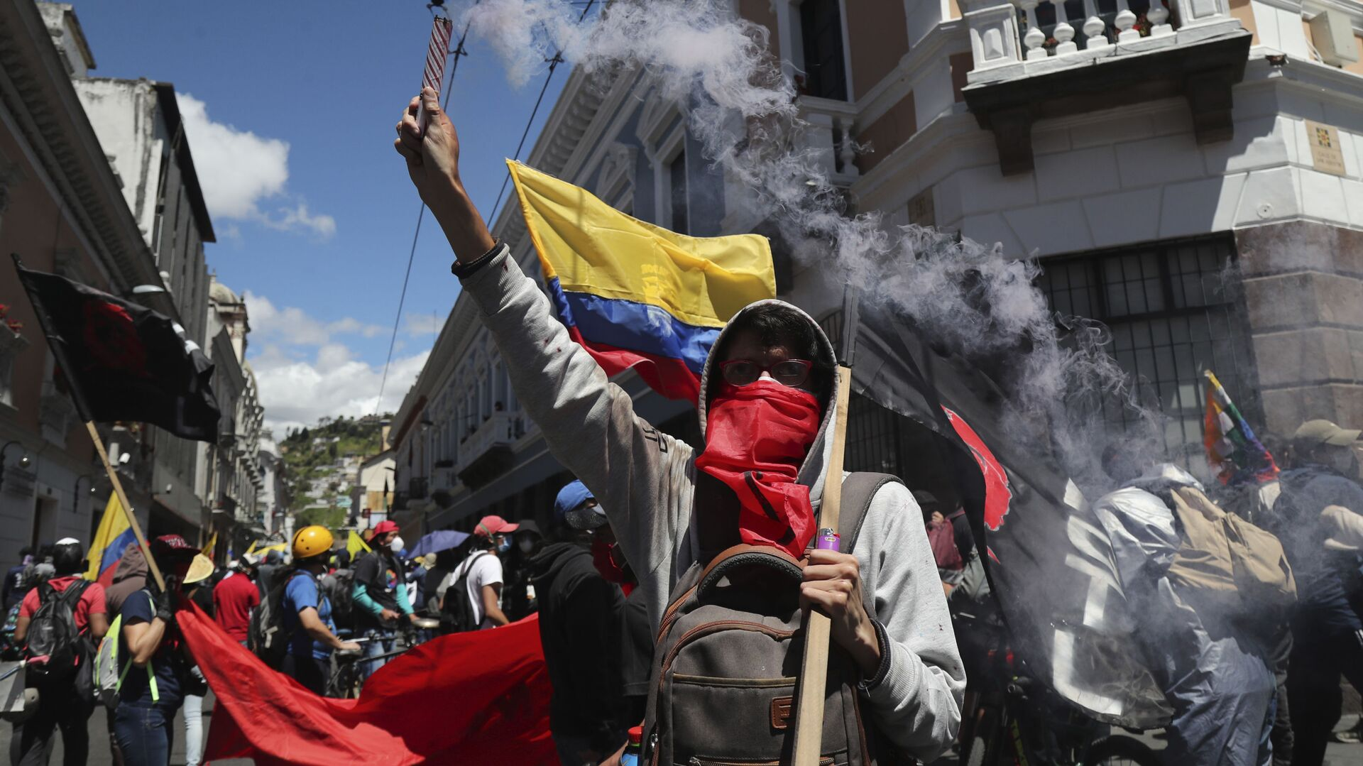Protestas en Ecuador (Archivo) - Sputnik Mundo, 1920, 03.08.2021