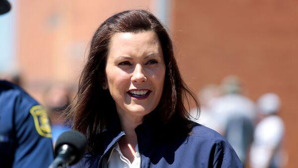 Gretchen Whitmer, gobernadora de Michigan - Sputnik Mundo