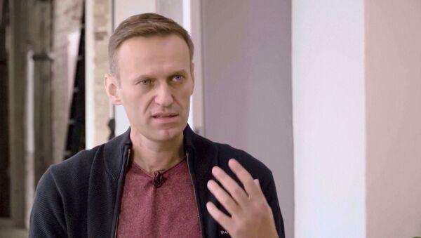 El opositor ruso, Alexéi Navalni  - Sputnik Mundo