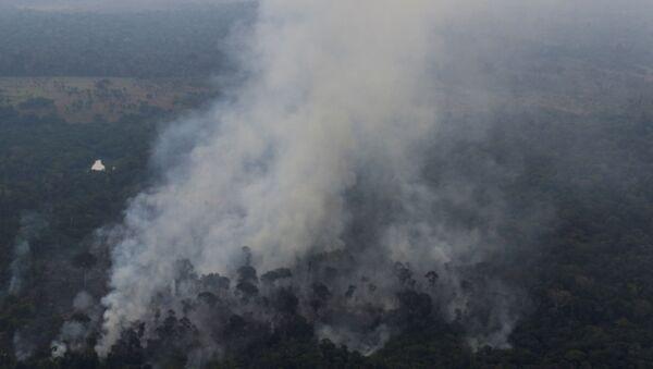 Incendios en la Amazonía brasileña - Sputnik Mundo