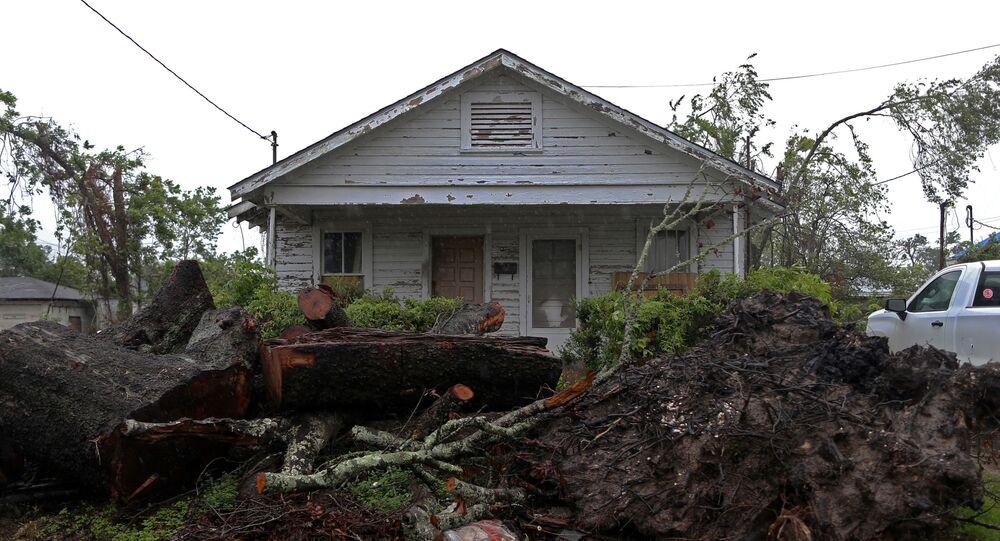 Huracán en EEUU
