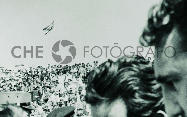 Acto en el Caney de las Mercedes, 1959 - Sputnik Mundo