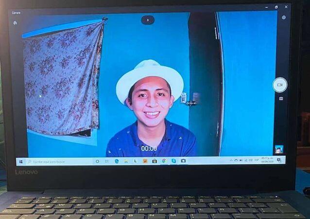 El joven mexicano Santos Tuz