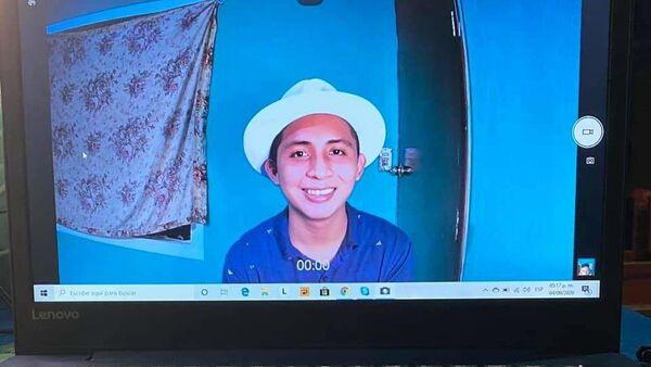 El joven mexicano Santos Tuz - Sputnik Mundo