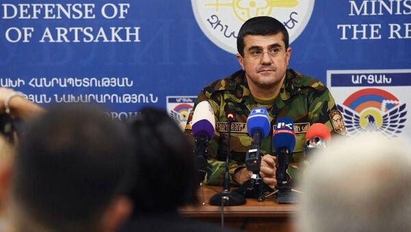 El presidente de la autoproclamada república de Nagorno Karabaj, Araik Arutiunián - Sputnik Mundo