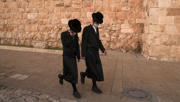 Los ultraortodoxos en Jerusalén (imagen referencial) - Sputnik Mundo