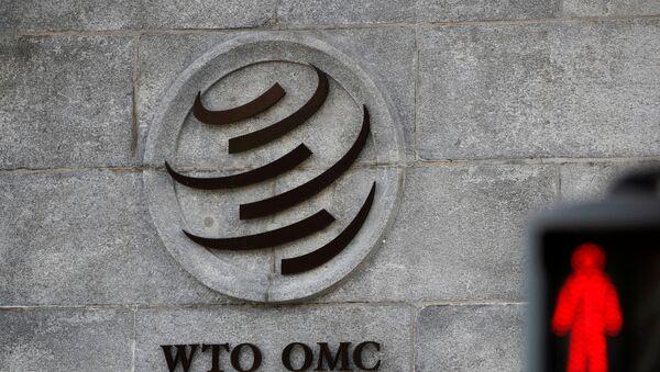 El logotipo de la Organización Mundial del Comercio - Sputnik Mundo