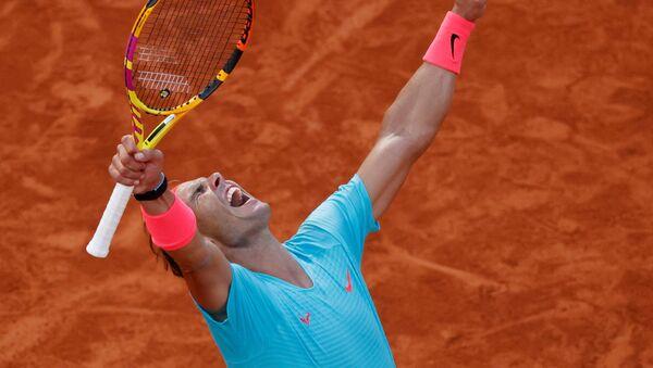 El tenista español Rafael Nadal - Sputnik Mundo