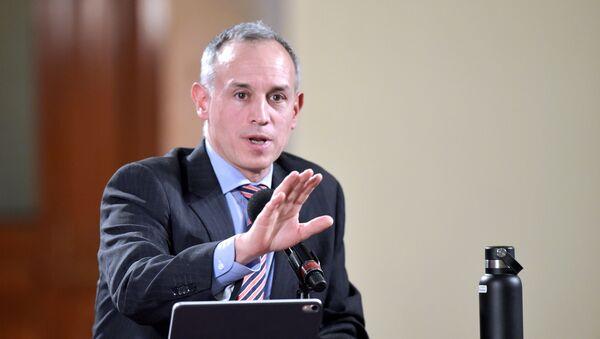 Hugo López-Gatell Ramírez, subsecretario de Prevención y Promoción de la Salud del Gobierno de México - Sputnik Mundo