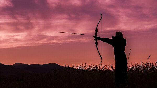 Un arquero (imagen referencial) - Sputnik Mundo