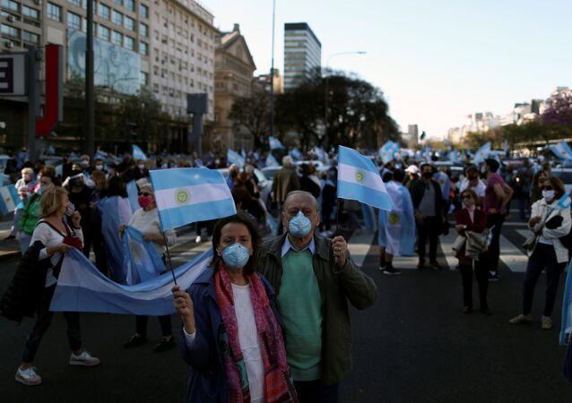 Movilizaciones en Argentina