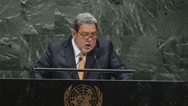 Ralph Everard Gonsalves, primer ministro de San Vicente y las Granadinas - Sputnik Mundo