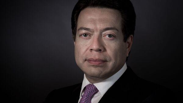Mario Delgado, líder de los diputados del Morena - Sputnik Mundo