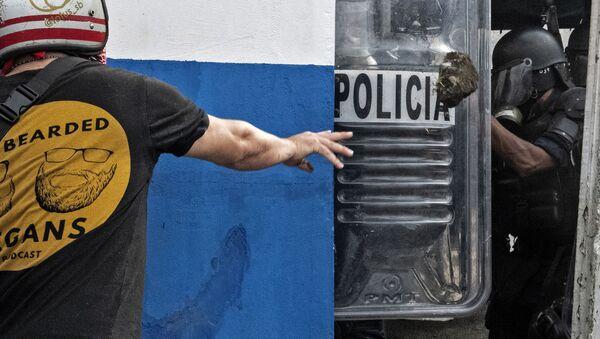 Protestas en Costa Rica - Sputnik Mundo