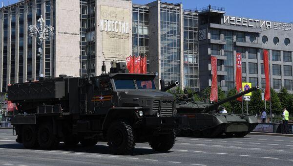 El lanzallamas ruso TOS-2 Tosochka - Sputnik Mundo