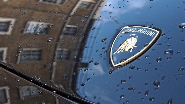 El logo de Lamborghini (imagen referencial) - Sputnik Mundo