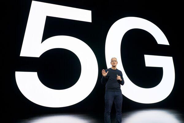 Llega la velocidad: Apple presenta la nueva época del iPhone - Sputnik Mundo