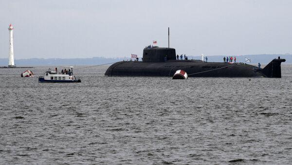 El submarino nuclear ruso Oriol - Sputnik Mundo