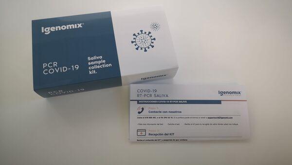 Pack de PCR de saliva de la empresa Igenomix - Sputnik Mundo