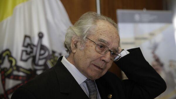 El activista y Premio Nobel de la Paz argentino Adolfo Pérez Esquivel - Sputnik Mundo