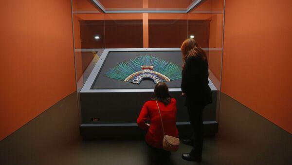 El penacho de Moctezuma - Sputnik Mundo