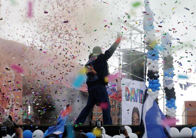 Luis Arce, candidato socialista boliviano