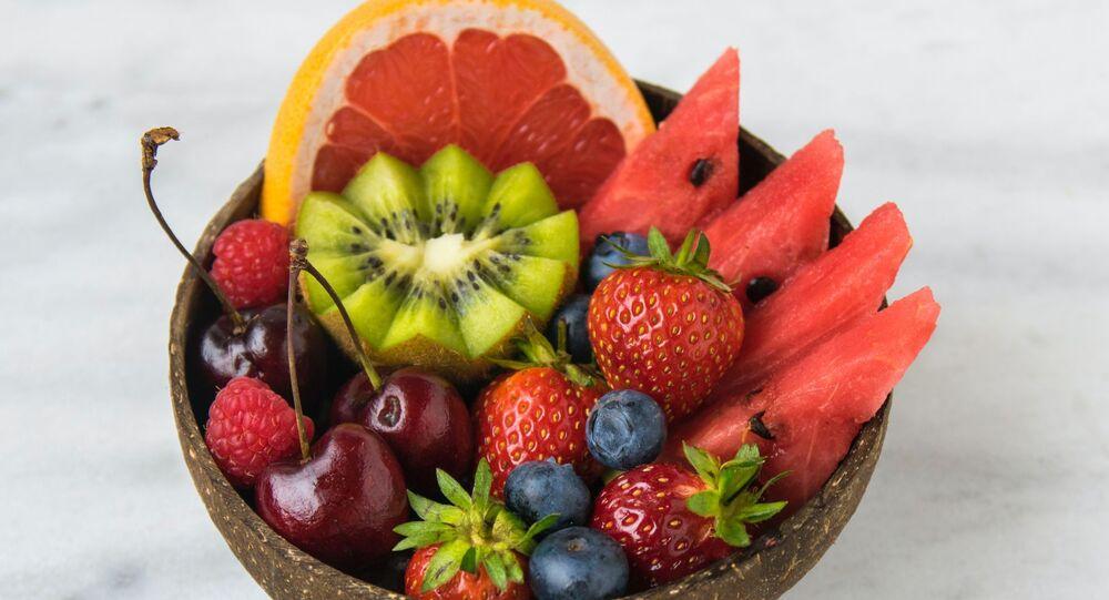 Unas frutas