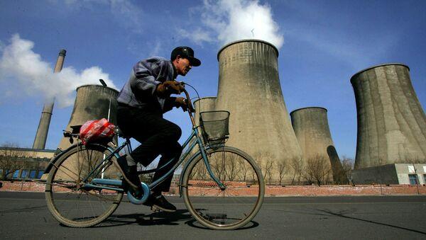Una central eléctrica china que funciona con carbón - Sputnik Mundo