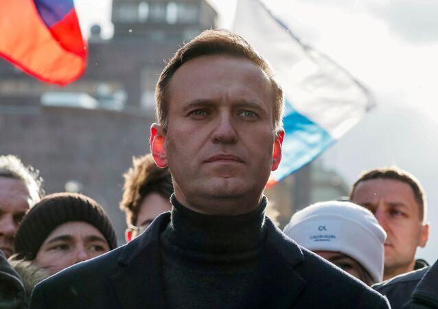 Alexéi Navalni, activista opositor ruso (archivo)
