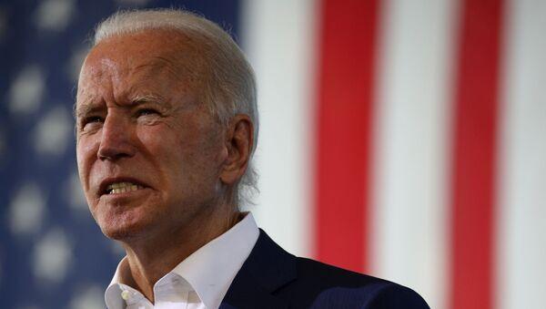 El candidato presidencial por la oposición en EEUU, Joe Biden - Sputnik Mundo