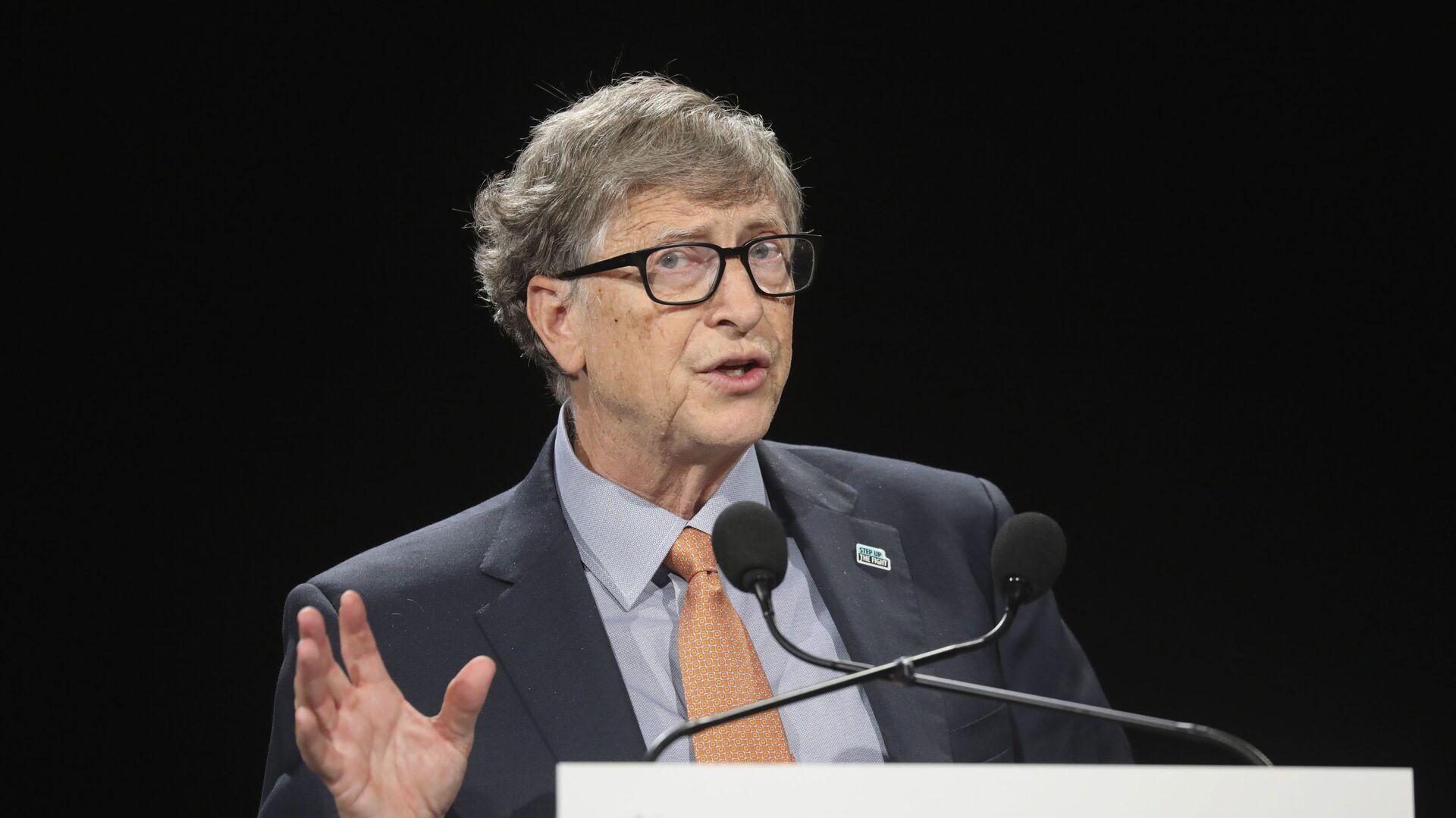 Bill Gates, multimillonario y filántropo estadounidense - Sputnik Mundo, 1920, 27.01.2021