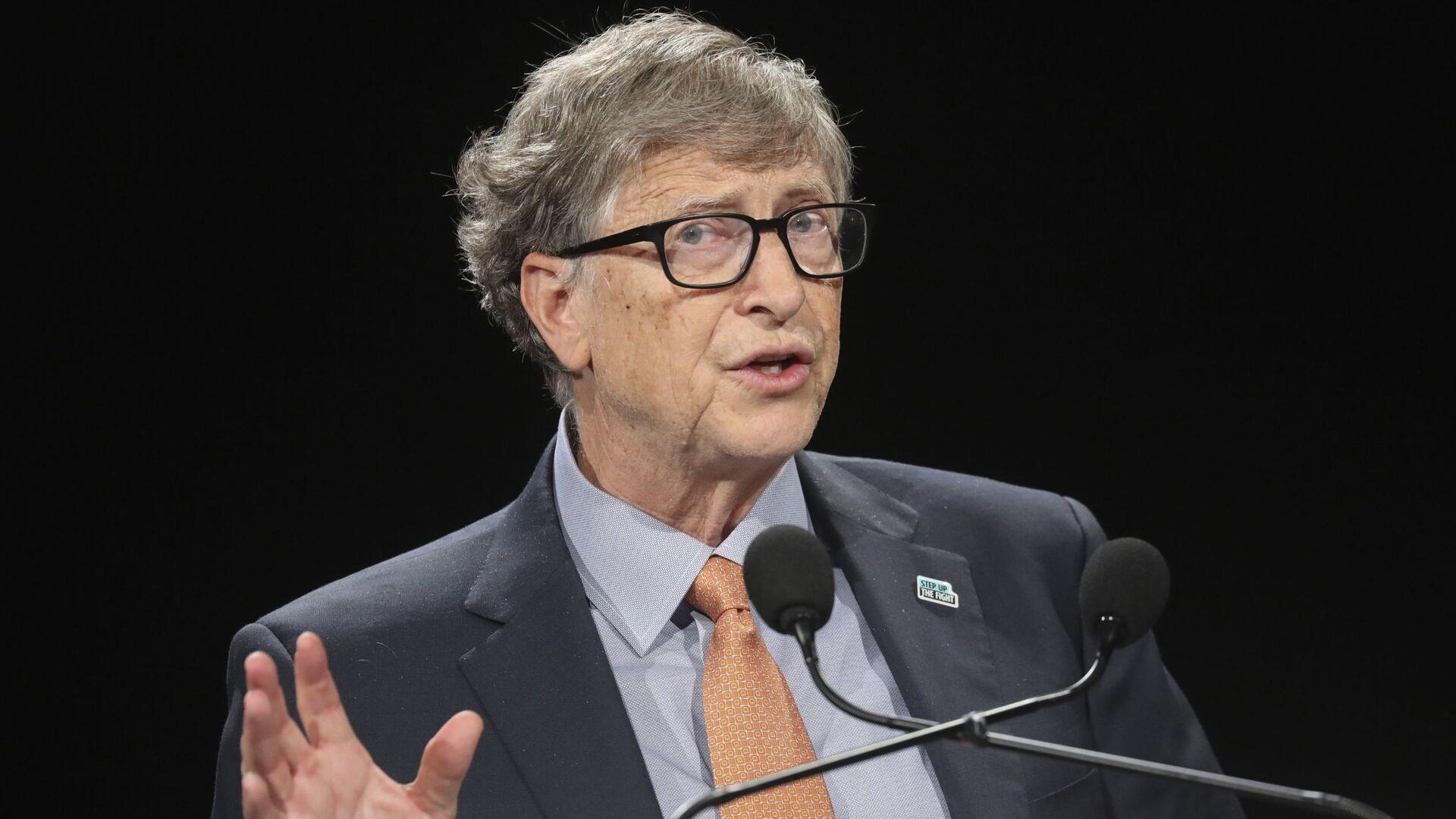 Bill Gates, multimillonario y filántropo estadounidense - Sputnik Mundo, 1920, 24.04.2021