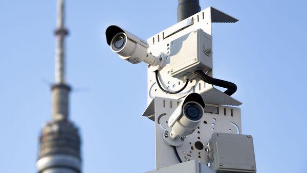 Cámaras de videovigilancia (imagen refrencial) - Sputnik Mundo