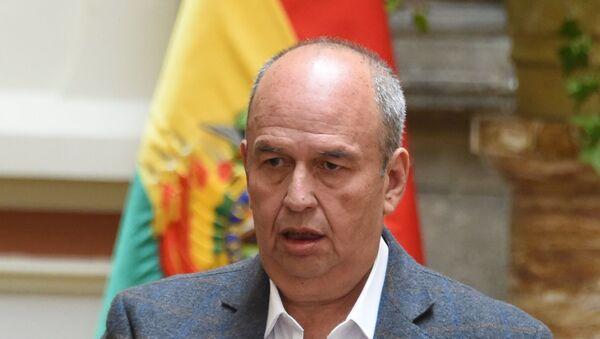 Arturo Murillo, ministro de Gobierno de Bolivia - Sputnik Mundo