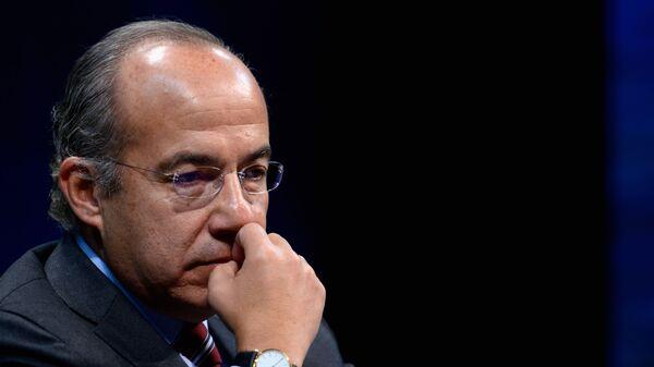 Felipe Calderón Hinojosa, expresidente de México - Sputnik Mundo