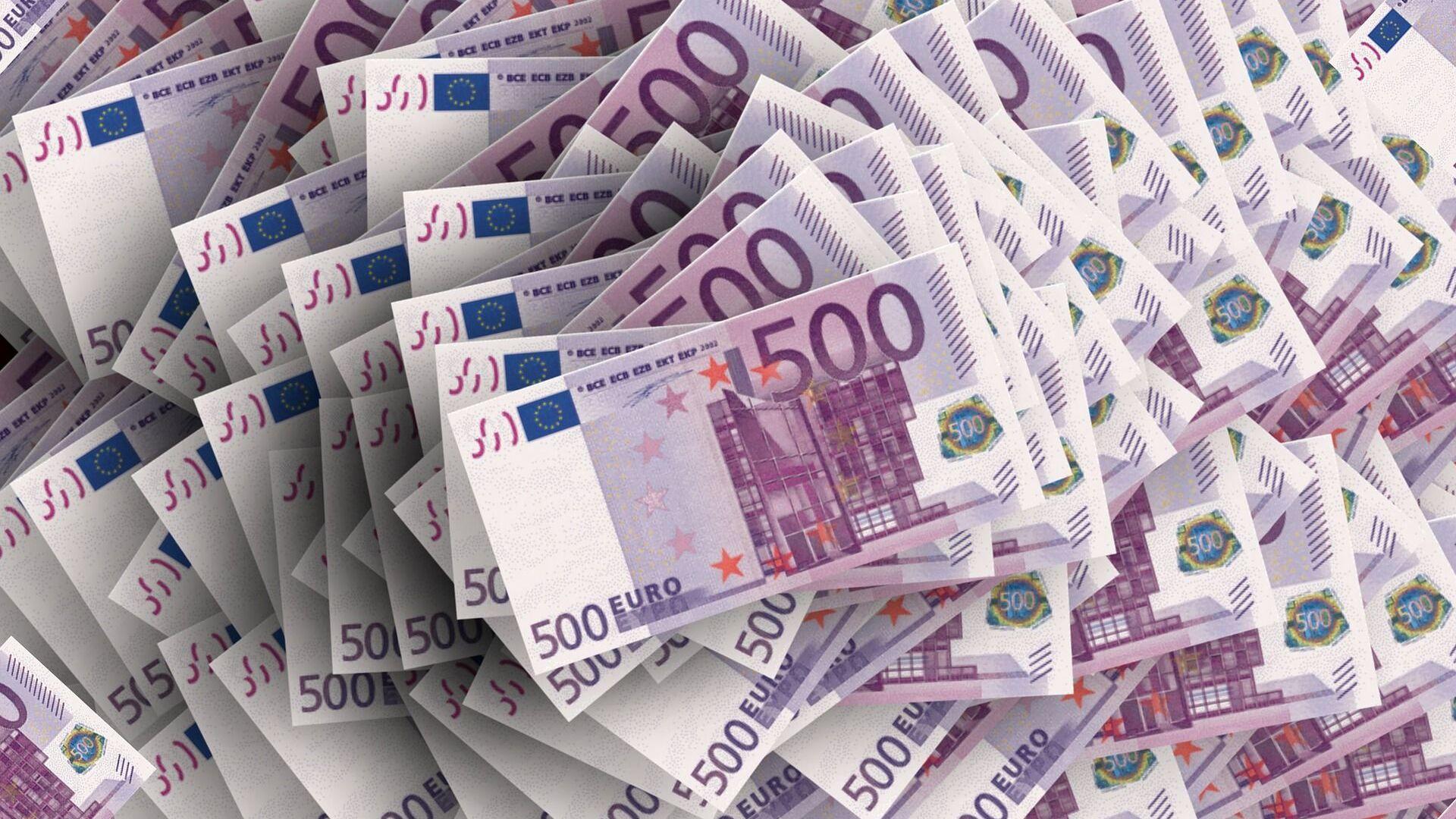 Euros (imagen referencial) - Sputnik Mundo, 1920, 03.11.2020
